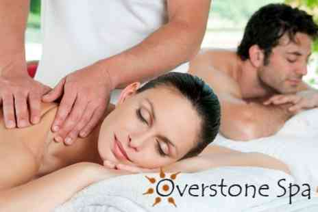 Overstone Spa - Spa Day With Back Massage and Monu Facial For One Plus File and Polish - Save 57%