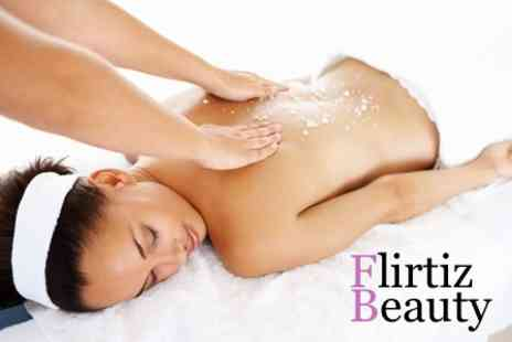 Flirtiz - Back Massage or Facial - Save 54%