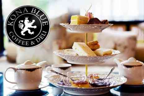 Kona Blue - City Centre Afternoon Tea For Two People - Save 60%