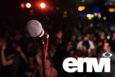 Envi - Comedy Night For Two With Wine - Save 36%
