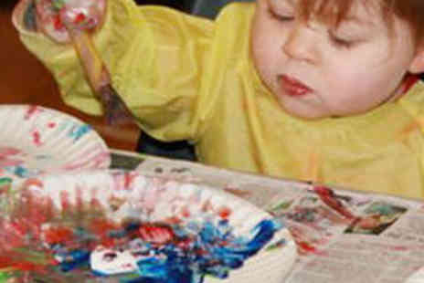 Messy Munchkins - Kids Creative Play Session - Save 60%