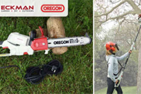 MySmartBuy.com - Eckman 900W 2 in 1 Angle Adjustable Chainsaw - Save 55%