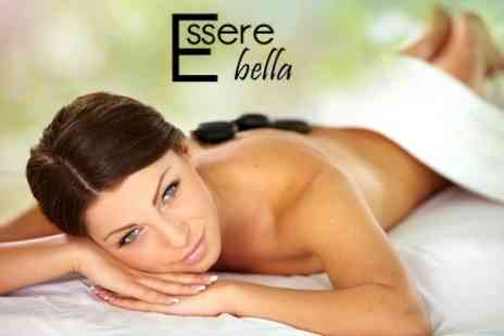 Essere Bella - Choice of Two Treatments Such as Hot Stone Massage and Pedicure - Save 70%