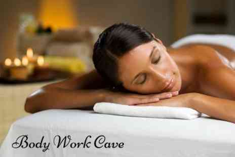 Body Work Cave - Choice of 60 Minute Massage - Save 66%