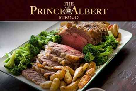 The Prince Albert - Two Course Sunday Lunch For Two - Save 54%