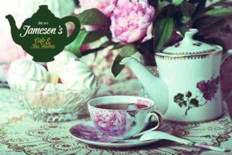 Jamesons Tea Rooms - Vintage Style Afternoon Tea For Two - Save 42%