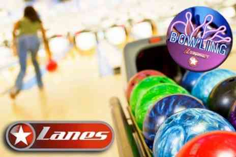 Lanes Bowling - Bowling for Up to Six - Save 67%