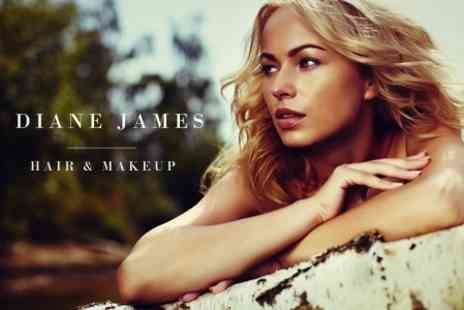 Diane James Hair & Makeup - Cut and Finish With Conditioning Treatment - Save 62%