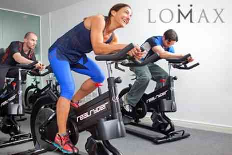 Lomax - Eight RealRyder Indoor Cycling Classes - Save 86%
