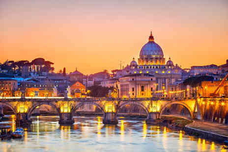 Independent World Choice Holidays - Two nts at a 4 hotel in Rome inc flights & bfast  - Save 41%