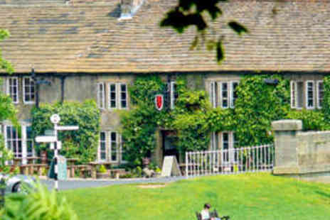 The Red Lion - Yorkshire Dales Overnight Stay for Two People - Save 51%