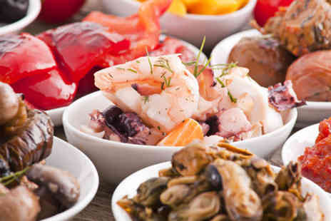 3 Amigos - Tapas for 2 inc 6 dishes to share and a glass of sangria - Save 64%