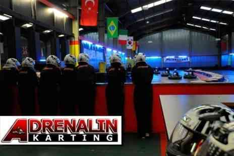 Adrenalin Karting - Adrenalin Karting 30 Minute Racing Session - Save 50%