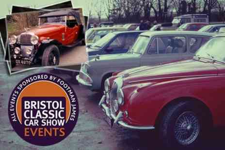 Bristol Classic Car Show - Entry for Two - Save 50%