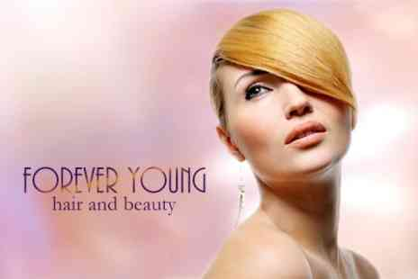 Forever Young - Half Head Foils or Full Head Cap Highlights With Cut and Finish - Save 63%