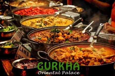 Gurkha Oriental Palace - Asian Cuisine Four Course All You Can Eat Buffet For Two - Save 48%