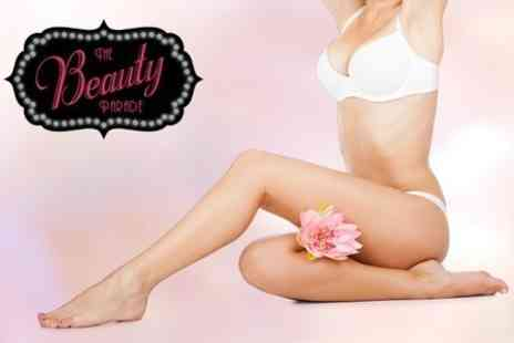 The Beauty Parade - Laser Hair Removal Six Sessions For Small Area - Save 26%