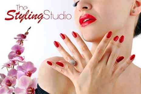 The Styling Studio - Gel Manicure - Save 37%