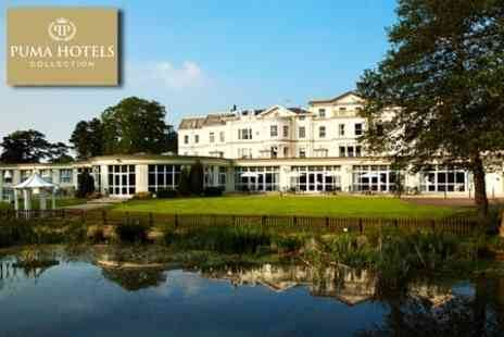 Cheltenham Park Hotel - In Cheltenham Park Hotel One Night 4star Stay For Two With Three Course Dinner, Bottle of Wine and Breakfast - Save 21%