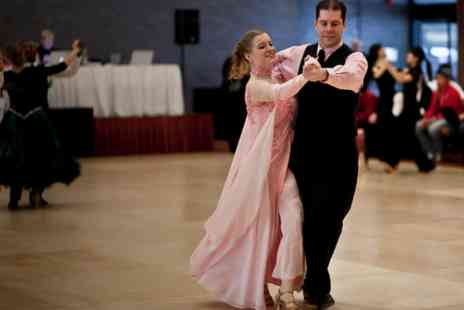 Simply Dancing Partners - Two 1.5 hour ballroom dance classes with a professional dance partner - Save 40%