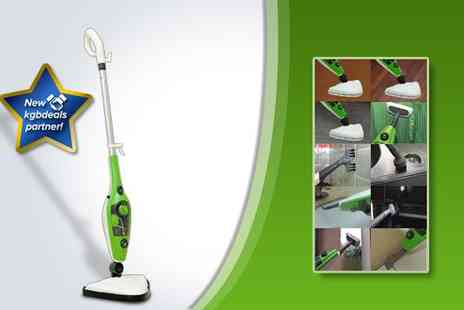 Supa Value - 1500W multi function 10-in-1 steam mop - Save 50%
