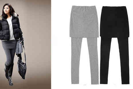 Pandacheer - Latest fashion trends with these 2-in-1 Skirt Leggings - Save 67%