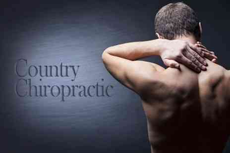 Country Chiropractic - Three Country Chiropractic Sessions With Consultation - Save 82%