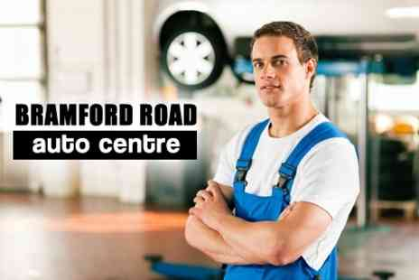 Bramford Road Auto Centre - MOT test for a car with steering and brake check Pass - Save 65%