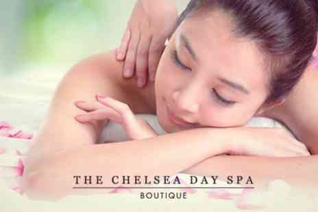 The Chelsea Day Spa Boutique - 75 Minute Pamper Package of Massage and Facial - Save 63%