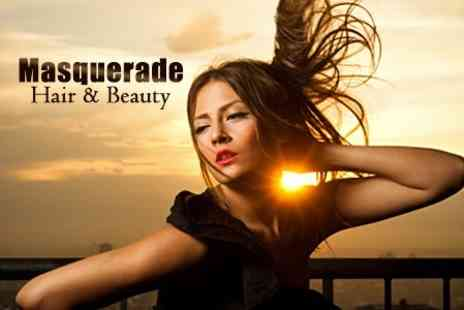 Masquerade Hair and Beauty Lounge - Cut and Blow Dry - Save 50%