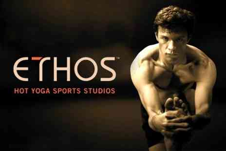 Ethos - Ten Classes Hot Yoga For One - Save 66%
