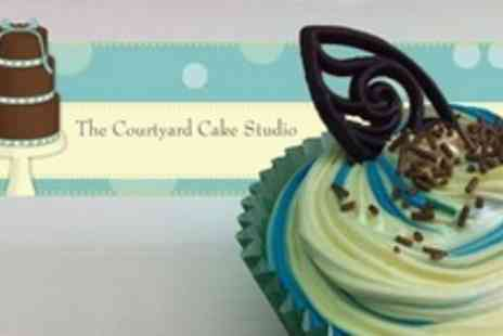 The Courtyard Cake Studio - Two Hour Cupcake Decorating Course For Two - Save 62%