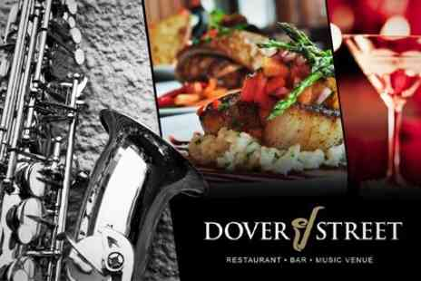 Dover Street - Five Courses of Modern European Cuisine With Sparkling Cocktail and Live Jazz Music - Save 55%