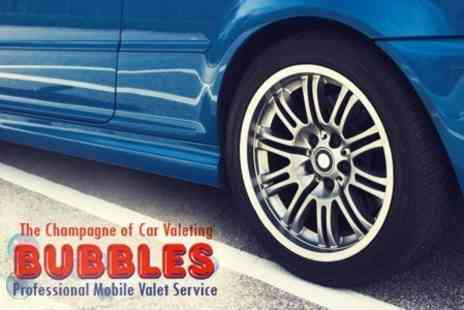 Bubbles Car Wash - Wash and Dry Service With Autoglym Paint Protection and Alloy Wheel Seal - Save 84%