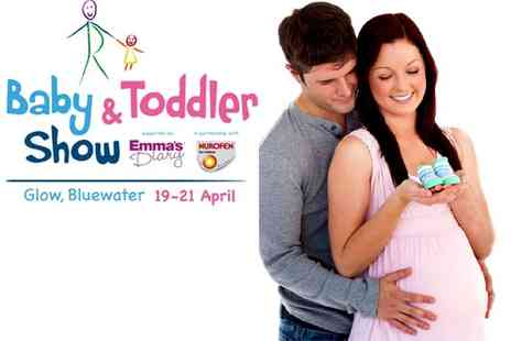 Mercury Events - Baby & Toddler Show- Bluewater tickets - Save 50%