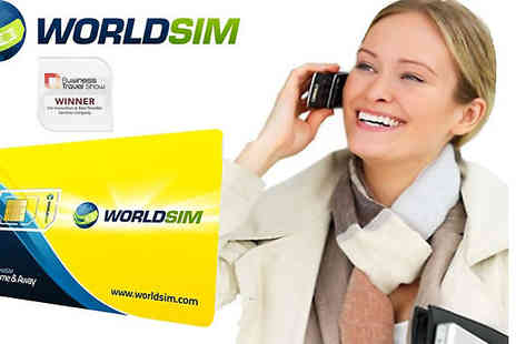 World SIM - Reduce huge roaming charges with a Worldwide Sim card & £10 credit - Save 67%