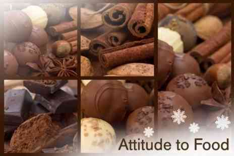 Attitude to Food - Raw Chocolate Workshop - Save 57%