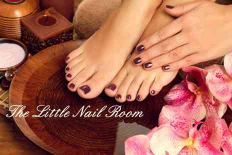 The Little Nail Room - 90 minute Deluxe Manicure and Pedicure - Save 70%
