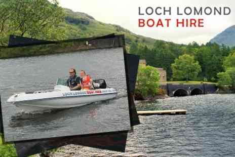 Loch Lomond Boat Hire - Two Hours Rental For One Boat - Save 55%