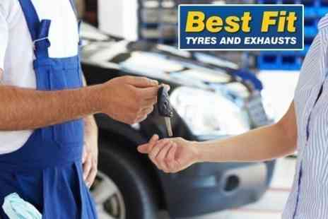Best Fit Tyres and Exhaust - MOT and Valet - Save 69%