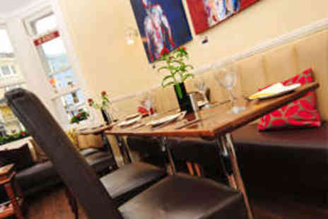 New Steine Bistro - Two Course French Meal for Two with Wine - Save 68%