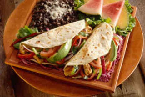 La Tortilla - Mexican Starter and Main Course Each for Two - Save 57%