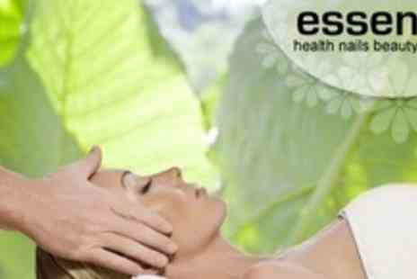 Essence - One Hour Facial Plus Head Massage - Save 60%