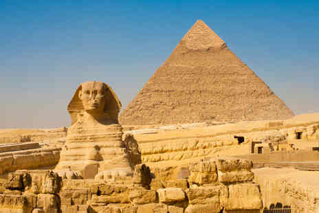 Encounters Travel - 9 Day Egyptian tour including 5star accomodation, pyramids & Nile tour - Save 52%