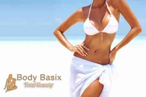 Body Basix - Two California Spray Tans - Save 70%