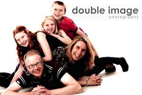 Double Image Photography - One Hour Photoshoot With Prints and Disc of Images - Save 90%