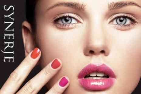 Synerje - Shellac Nails on Hands or Feet - Save 50%