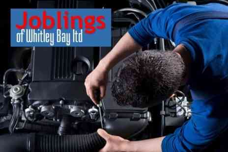 Joblings of Whitley Bay - Car Service 54 Point Check With Oil and Filter Change - Save 56%
