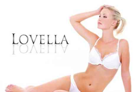 Lovella - Waxing Half Leg, Bikini, Underarms and Eyebrows - Save 58%