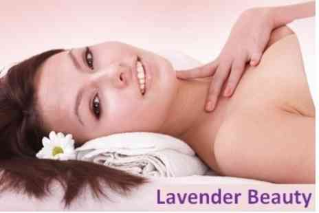 Lavender Beauty - 110 Minute Pamper Package Vitamin Facial, Body Wrap, and Massage - Save 80%